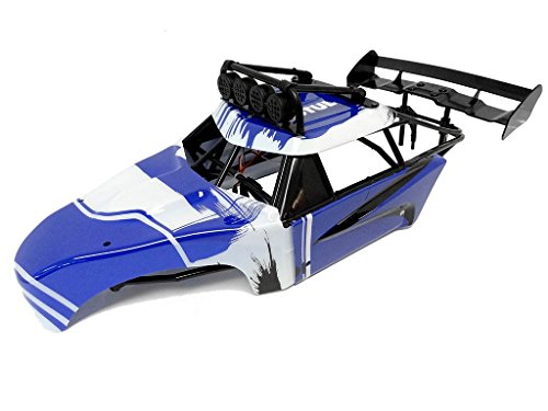 1/5 Rovan Internal Roll Cage, Body Panels, L.E.D Light Bar Fits HPI Baja 5T 5SC (Bar Roll Hpi)