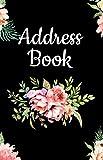 Address Book: Pretty Floral Design, Tabbed in