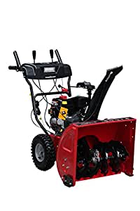 Power Smart DB7103-24 Inch Two Stage Snow Thrower With 208cc LCT snow engine and Electric Start