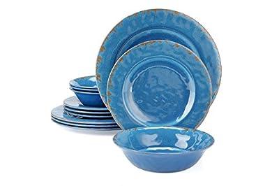 16pcs Melamine Dinnerware Set for 4