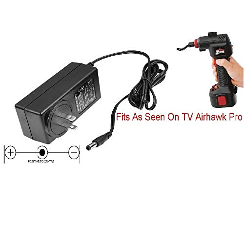 Pro Adapters Replacement Charger Power Cord for Airhawk Pro Portable Air Compressor Pump Air