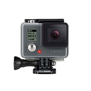 GoPro HERO - Videocámara deportiva (5 Mp, sumergible hasta 40 m), (versión inglesa/francesa)