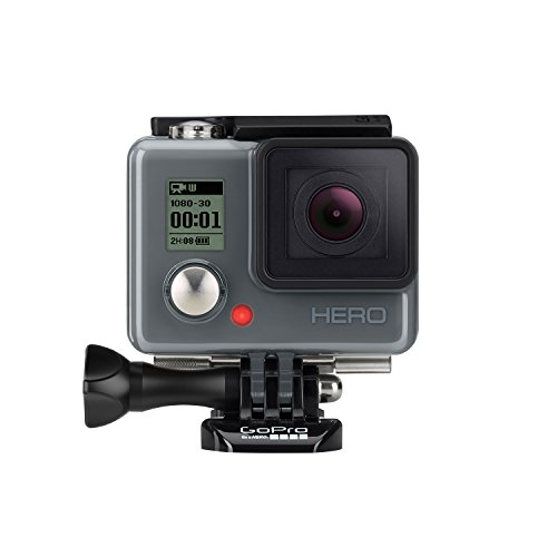GoPro Hero CHDHA-301-EU 5 MP Waterproof Camera (Black) - International Version (No Warranty)