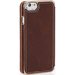 "Prodigee Jackit Brown for Apple iPhone 8 (2017) 4.7"" & iPhone 7 (2016) 4.7"" & iPhone 6 / 6s 4.7"" Cell Phone case 2 Card Slot Holder Leather Flip Wallet"