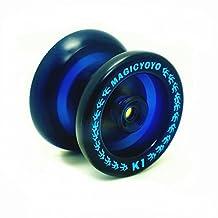 MAGICYOYO New K1 Spin ABS Yo-yo ball Yo Yo Toy, Upgraded K1 Heavier Than before, More Fun Without Weighting Rings, Blue