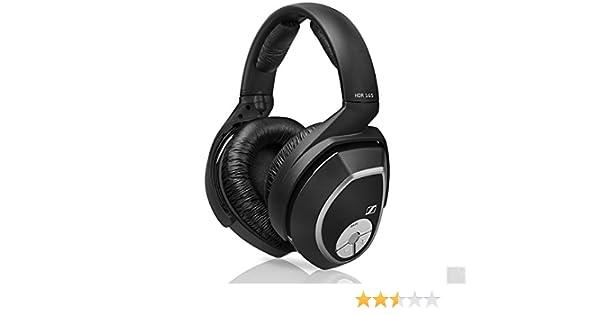 Sennheiser HDR 180 - Auriculares de diadema cerrados, negro: Amazon.es: Electrónica