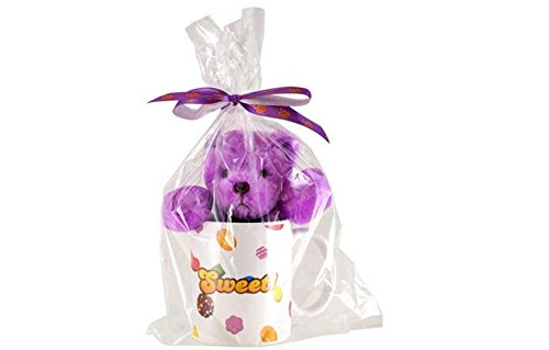 Candy Crush Coffee Mug with Purple Bear Plush Set (Commonwealth Games Costumes)