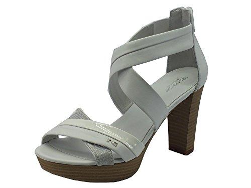 Sandals Bianco Giardini Women's Nero P717551d Fashion Diamond Bianco Tigri xZUx0fqwP