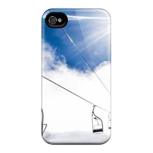 New Mountain Ropeway Ski Resort Cases Covers, Anti-scratch AyN8940RyhL Phone Cases For Iphone 6plus