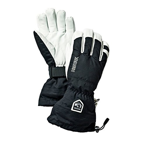 Hestra Ski Gloves: Army Leather Heli Leather Cold Weather Powder Glove – DiZiSports Store