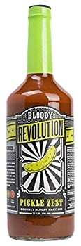 Bloody Revolution Pickle Zest 32-ounce Bottle Bloody Mary Mix