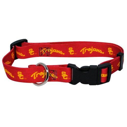 hunter-mfg-usc-trojans-dog-collar-extra-small
