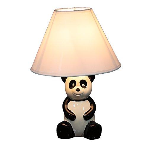 Ore International 628WH Panda Kid's Lamp, - Price Panda Shades