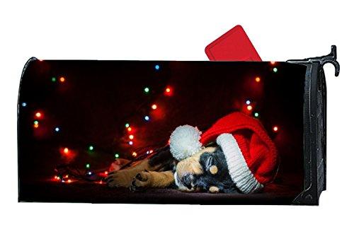 Una Stowe Fashion Mailbox Makeover Sleeping Christmas Dog Ma