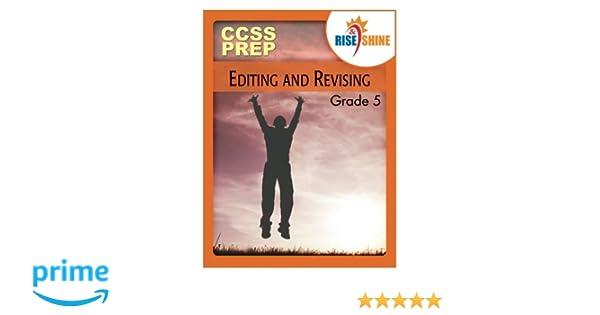 Amazon.com: Rise & Shine CCSS Prep Grade 5 Editing and Revising ...