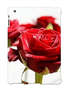 Awesome Case Cover/ipad 2/3/4 Defender Case Cover(red Roses ) Gift For Christmas