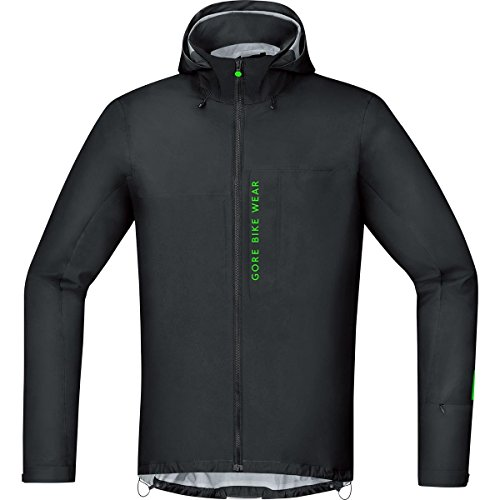 GORE BIKE WEAR Herren Mountainbike-Jacke, GORE-TEX Active, POWER-TRAIL GT AS Jacket, Größe: XXL, Schwarz, JGPOWM