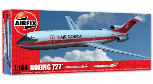 Airfix Boeing 727 Model Kit (1:144 (144 Scale Plastic Kit)