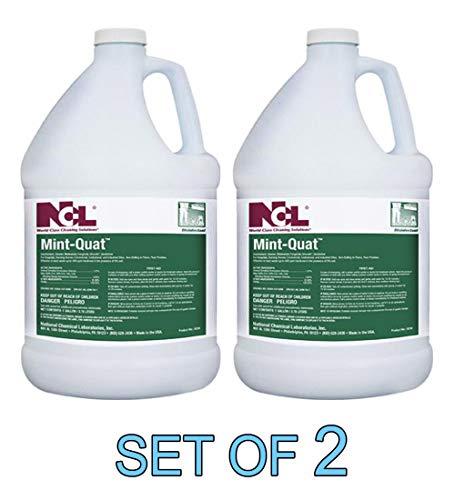 (Mint-Quat Disinfectant Cleaner Mildewstat Fungicide Virucide Deodorizer 1 GAL [Set of 2])