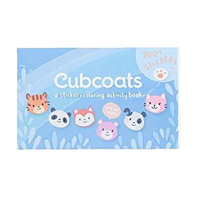 Cubcoats 2-in-1 Kids Sticker Book and Children's Activity Book with 200 Stickers and 40 Pages of Activities and Coloring Book Space: Arts, Crafts & Sewing