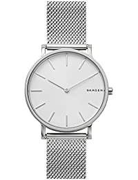 Men's 'Hagen' Quartz Stainless Steel Casual Watch, Color:Silver-Toned (Model: SKW6442)