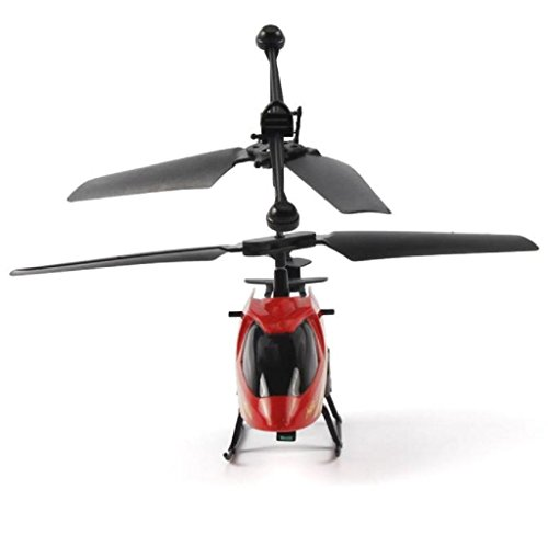 Air Heli Radio Rc (Singleluci, RC 901 2CH Mini rc helicopter Radio Remote Control Aircraft Micro 2 Channel Red)