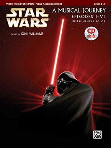 Star Wars Instrumental Solos for Strings (Movies I-VI): Violin, Book & CD (Pop Instrumental Solos Series) (Alfred Publishing Star)