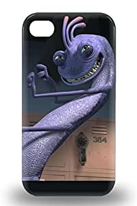 Fashion Protective American Randall Boggs Monsters University The Monsters University Freshman 3D PC Case Cover For Iphone 4/4s ( Custom Picture iPhone 6, iPhone 6 PLUS, iPhone 5, iPhone 5S, iPhone 5C, iPhone 4, iPhone 4S,Galaxy S6,Galaxy S5,Galaxy S4,Galaxy S3,Note 3,iPad Mini-Mini 2,iPad Air )