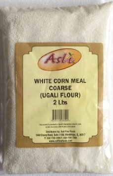 Asli White Corn Meal COARSE (Ugali Flour) – 2lb, Indian/African Groceries
