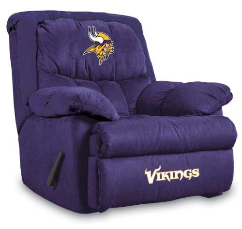 Imperial Officially Licensed NFL Furniture: Home Team Microfiber Rocker Recliner, Minnesota Vikings