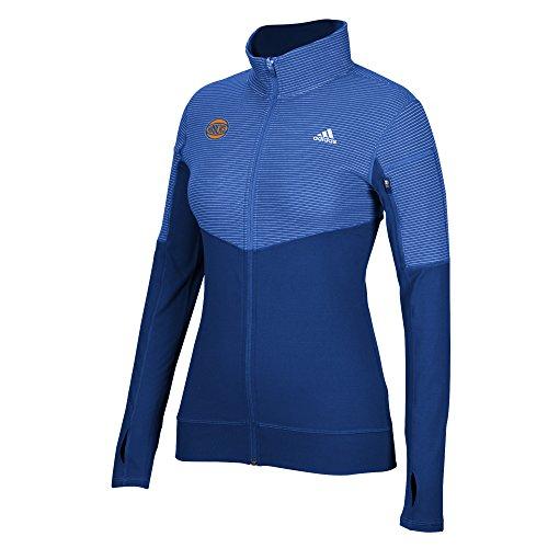 8b83569d0a65 adidas NBA New York Knicks Women s Team Logo Lightweight Full Zip Jacket