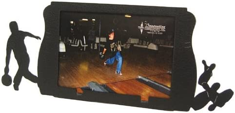 Female Bowling 3x5 Black Metal Picture Frame