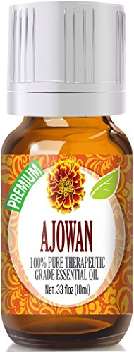Ajowan Seed 100% Pure, Best Therapeutic Grade Essential Oil - 10ml