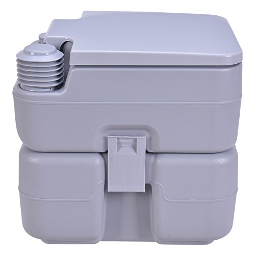 Porta Toilets Arab : Giantex gallon portable toilet flush travel outdoor