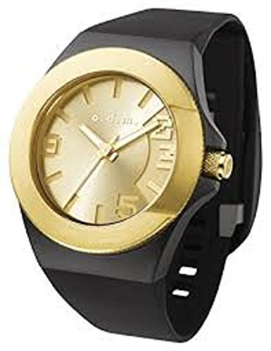 odm-unpretentious-iii-unisex-casual-watch-waterproof-sport-band-black-and-gold