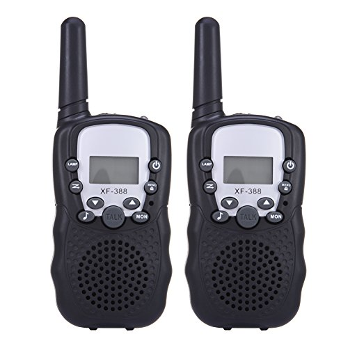 2 Packs Walkie Talkies for Kids Two-way Radio 22 Channel 3000M (MAX 5000M open field) UHF Long Range Handheld Talkies Talky