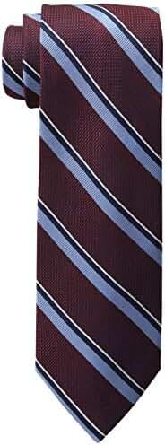 Tommy Hilfiger Men's Grenandine Repp Stripe Tie