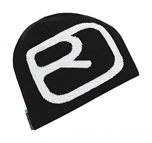 Ortovox Unisex Beanie Pro Black Raven OS (Black Beanie Raven)