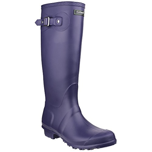 Buckle Womens Sandringham Up 7 Boots Wellington Purple UK Cotswold 5CFnx75