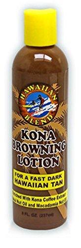 Hawaiian Blend Kona Browning Lotion 8 oz. by Hawaiian Blend
