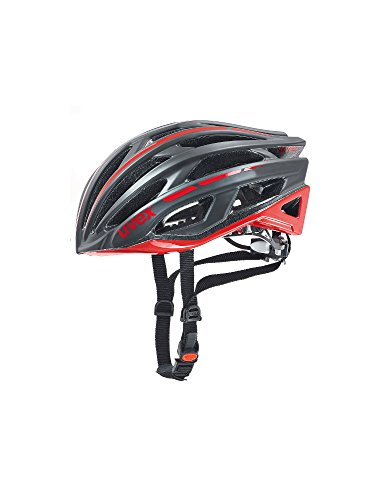 - Uvex Race 5 Matt Black-Red Helmet 2016