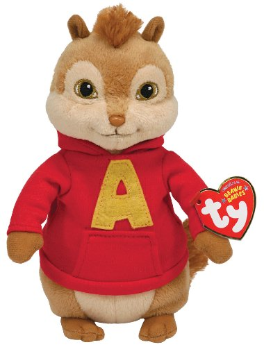 Ty Beanie Baby Alvin, Alvin and the Chipmunks from TY Beanie Baby