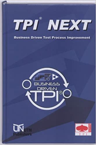 Book TPI Next: Business Driven Test Process Improvement