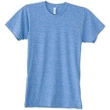 American Apparel Unisex Tri-blend Short Sleeve Track T-Shirt