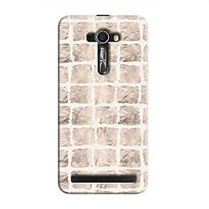 Cover It Up - Rock White Break Zenfone Selfie Hard case