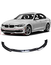 NINTE Front Lip for 2013-2018 BMW F30 F35 3 Series Base Bumper, ABS Carbon Fiber Coating Bumper Spoiler for 320i 325i 328i 335i Base Bumper