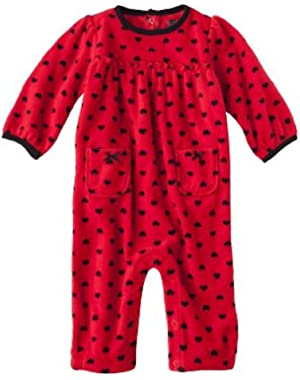 Just One You Made By Carter's Baby Girls' Infant Microfleece Jumpsuit