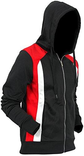 (Hat and Beyond Fleece Zipper Sweatshirts Jackets 8017 XL)