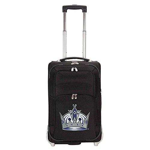 nhl-los-angeles-kings-denco-21-inch-carry-on-luggage-black