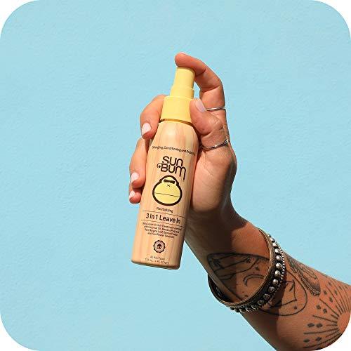 Sun Bum Revitalizing 3 in 1 Leave-In Conditioner Spray Detangler | Anti Frizz , Paraben and Gluten Free, Vegan, and…